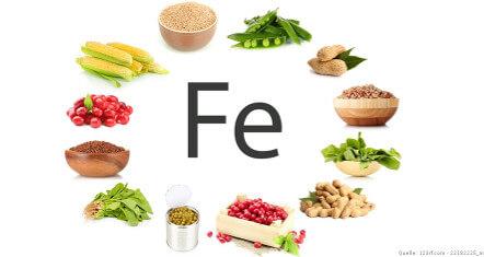 Spurenelement Eisen und vegane Ernährung