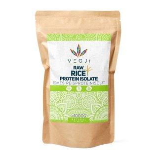Raw Rice Protein Isolate - 1000g Beutel