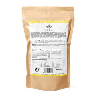 Raw Rice Protein Isolate - 1000g Vanille