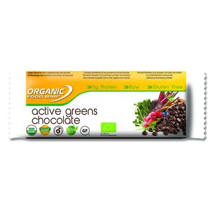 ORGANIC FOOD BAR Active Greens Chocolate - 1 Stk.