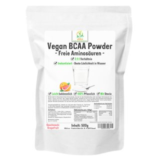 Vegan BCAA Powder - 500g Grapefruit