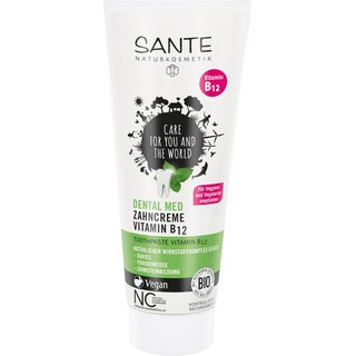 Sante Dental med Zahncreme Vitamin B12 - 75ml