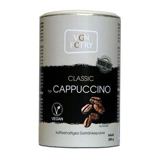 VGN FCTRY Instant Cappuccino Classic weniger süß - 280g