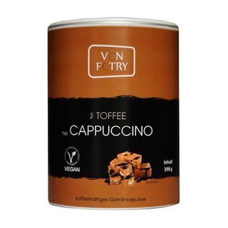 VGN FCTRY Instant Cappuccino Toffee - 280g