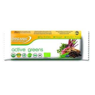 ORGANIC FOOD BAR Active Greens - 12er Karton