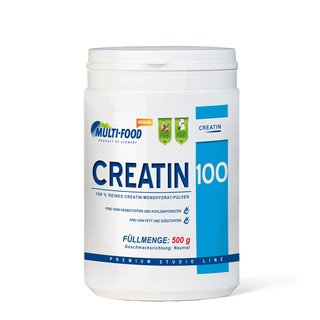 Multi-Food Creatin 100 - 500g Dose