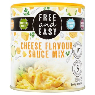 FREE & EASY Cheese Style Sauce Mix - 100g