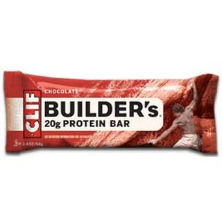 Clif Builders Bar Proteinriegel - 12er Karton Chocolate