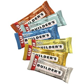 Clif Builders Bar Proteinriegel - 12er Karton Chocolate Mint
