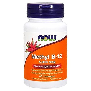 Now Foods Methyl B12 5000mcg - 60 Tabl.