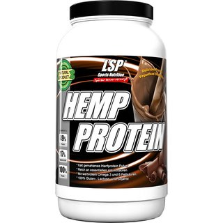 LSP Sports Hemp Protein Schoko - 1000g