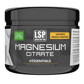 LSP Sports Magnesiumcitrat - 500g