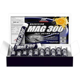 LSP Sports Magnesium Liquid - 20x25ml