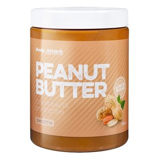 Body Attack Peanut Butter (Erdnussmus) - 1000g Smooth
