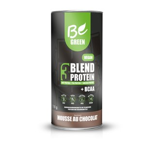 Be Green Vegan 3-Blend Protein - 700g Mousse au Chocolat