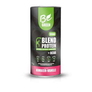 Be Green Vegan 3-Blend Protein - 1000g Vanille-Himbeere