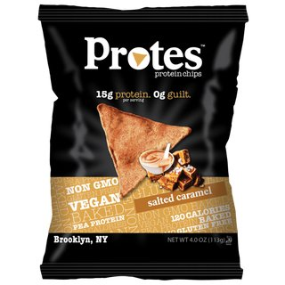 Protes Protein Chips - 28g Salted Caramel