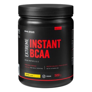 Body Attack Extreme Instant BCAA - 500g Lemon Flavour