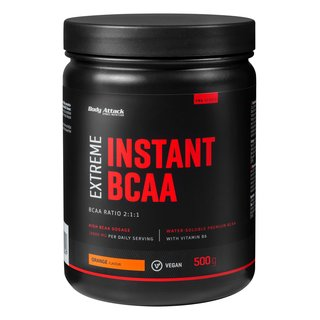 Body Attack Extreme Instant BCAA - 500g Orange Flavour
