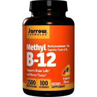 Jarrow Methyl B12 2500 mcg - 100 Tabl.