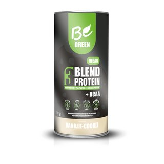 Be Green Vegan 3-Blend Protein - 1000g Vanille-Cookie