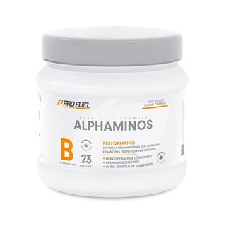 ProFuel Alphaminos BCAA-Aminosäuren - 300g White Grape
