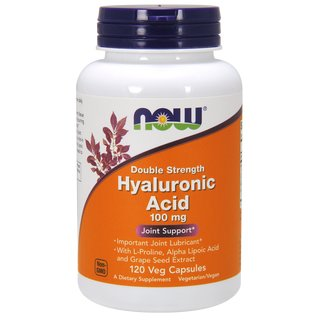 Now Foods Hyaluronsäure 100mg - 120 Kapseln