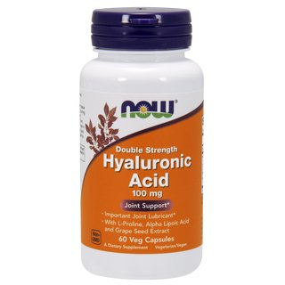 Now Foods Hyaluronsäure 100mg - 60 Kapseln