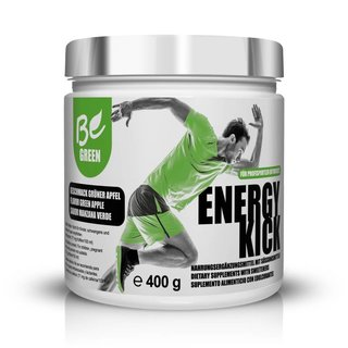 Be Green Energy Kick Pre-Workout Booster - 400g