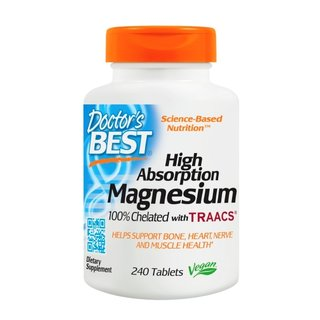 Doctors Best High Absorption Magnesium - 240 Tabl.