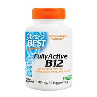 Doctors Best Fully Active Vitamin B12 1500mcg - 60 Kapseln