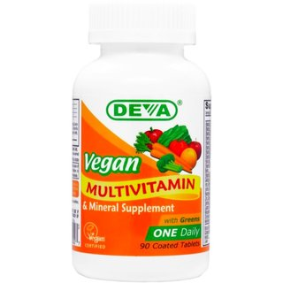 DEVA One-a-Day Vegan Multivitamin - 90 Tabs