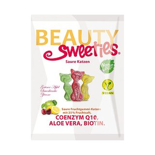 Beauty Sweeties Saure Katzen - 125g