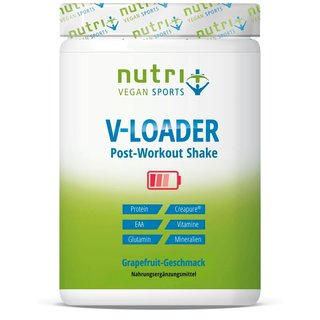 Nutri-Plus V-Loader Post-Workout Shake Vegan Sports - 1500g