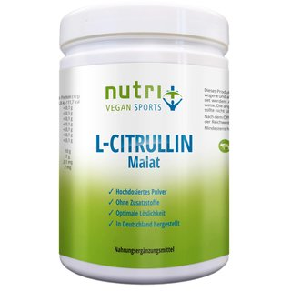 Nutri-Plus L-Citrullin Malat Vegan Sports - 500g