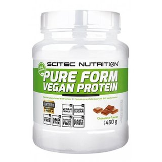 Scitec Nutrition Pure Form Vegan Protein - 450g