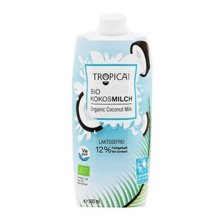 Tropicai Bio Kokosmilch -  500ml