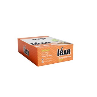 Veasy+ Vbar Vegan Protein Bar - 12x65g Orange Chocolate