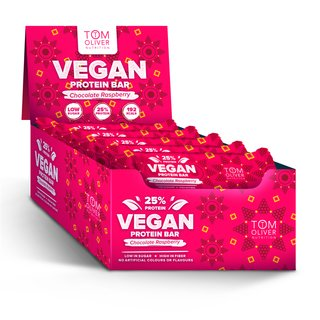 Tom Oliver Nutrition Vegan Protein Bar - 55g