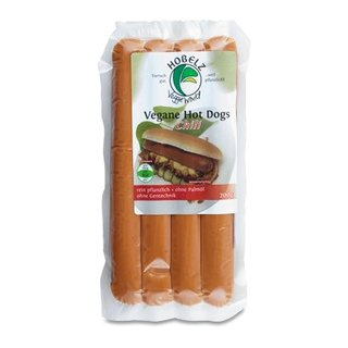 Hobelz Vegan Hot Dogs Chili - 200g