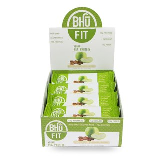 Bhu Fit Vegan Protein Bar - 45g Apple Chunk Cinnamon Nutmeg