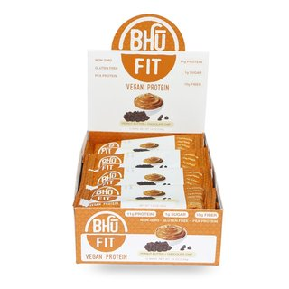 Bhu Fit Vegan Protein Bar - 45g Peanut Butter Chocolate Chip