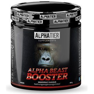 Alphatier Supplements Beastmode Pre-Workout Booster - 500g