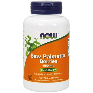 Now Foods Saw Palmetto Berries - 100/250 Kapseln