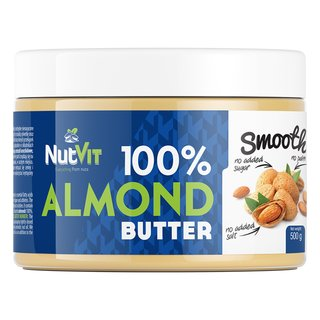 NutVit 100% Almond Butter - 500g