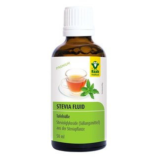 Raab Vitalfood Stevia Fluid - 50ml