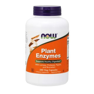 Now Foods Plant Enzymes - 240 Kapseln