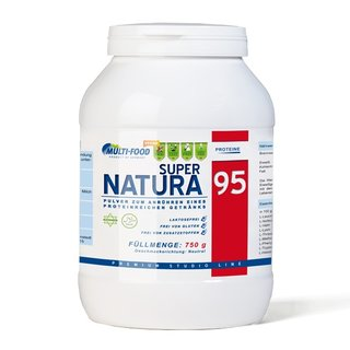 Multi-Food Super NATURA 95 Erbsenprotein - 750g Dose Neutral