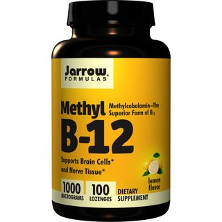 Jarrow Methyl B12 1000 mcg - 100 Tabl.