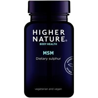 Higher Nature MSM Tabletten - 180 Tabs